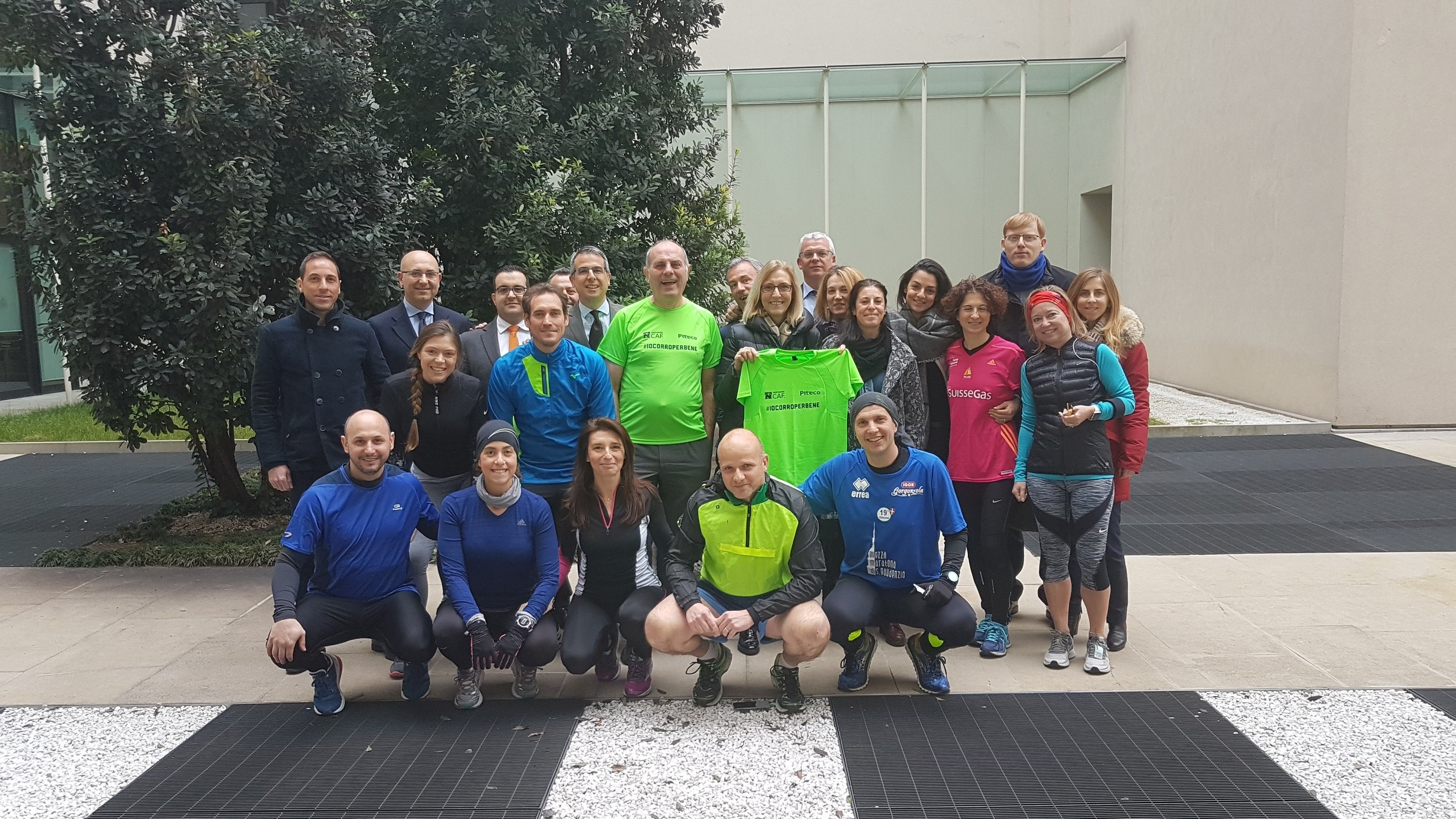 Associazione Caf+ SSB=7 anni di Maratona-State Street Runner