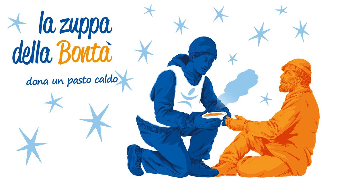 La Zuppa della Bontà: dona un pasto!-Fondazione Progetto Arca onlus